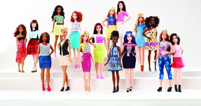 The 2016 Barbie Fashionistas line