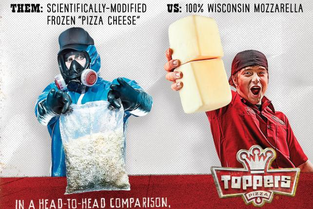 It's David vs. Goliath as Toppers doubles down on using Domino's image despite cease-and-desist