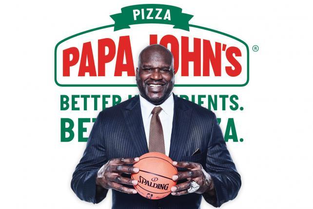 Papa Shaq? Shaquille O'Neal joins Papa John's