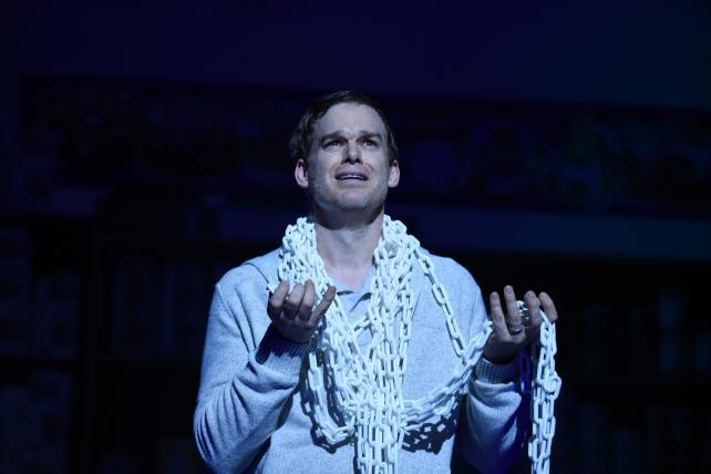 Skittles on Broadway declares 'Advertising Ruins Everything'