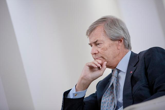 Vincent Bollore, billionaire and chairman of the Bollore Group, in 2015.