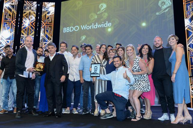 BBDO won Network of the Year.
