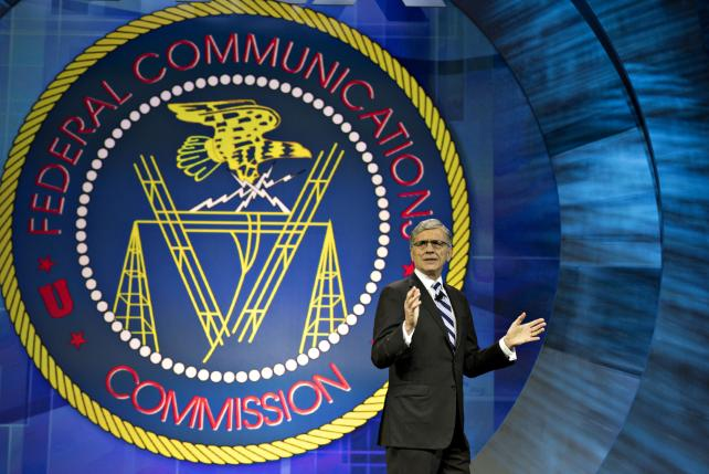 Tom Wheeler, chairman of the Federal Communications Commission, speaks at INTX: The Internet & Television Expo in Chicago last year.