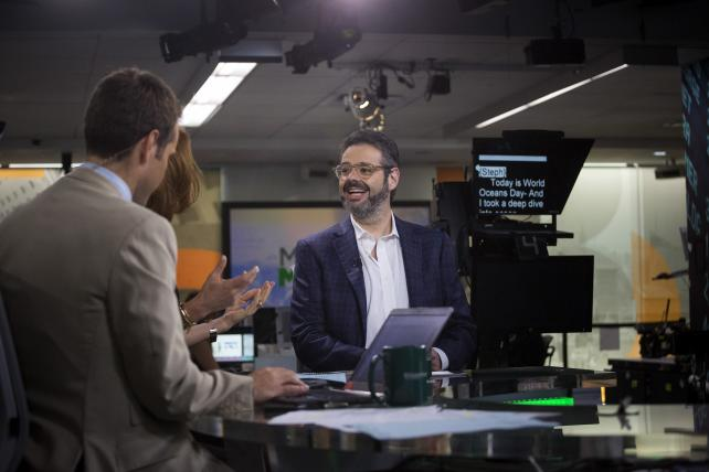 Isaac Lee, president of news and digital at Univision Communications, which includes the company's Fusion venture with Walt Disney Co.