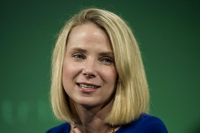 Marissa Mayer, president and chief executive officer at Yahoo, speaks during the Bloomberg Technology Conference in San Francisco last June.