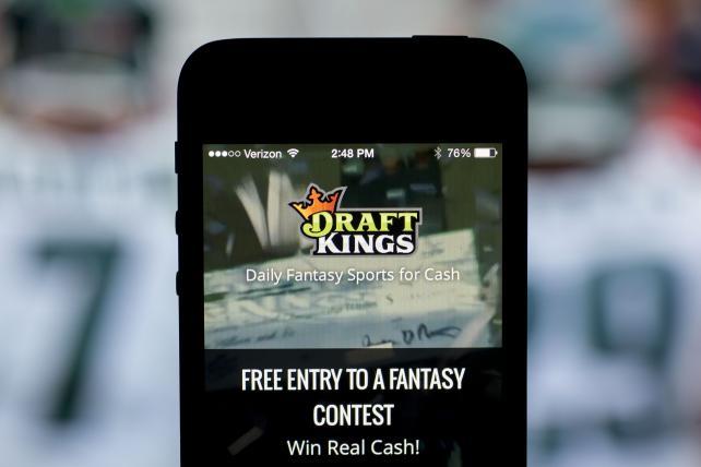 DraftKings' Daily Fantasy Sports app.
