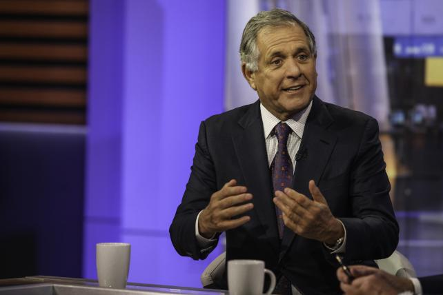 Les Moonves, president and CEO of CBS Corp., during a Bloomberg Television interview in October.