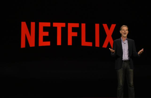 Netflix CEO Reed Hastings at the 2016 Consumer Electronics Show in Las Vegas.