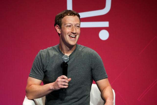 Facebook CEO Mark Zuckerberg at the Mobile World Congress in Barcelona in February.