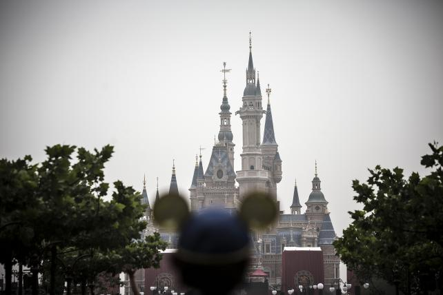 Enchanted Storybook Castle during the opening day of Walt Disney Co.'s Shanghai Disney Resort in China on June 16.