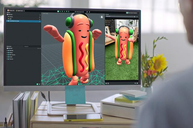 Now Anyone Can Make a Dancing Hot Dog: Snapchat Opens Lens Studio to All