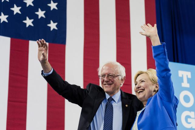 Senator Bernie Sanders endorsed Hillary Clinton, the presumptive Democratic presidential nominee, on Tuesday in a bid to bring the party together. Democrats are also sharing presidential-level digital campaign tools with party members in races further dow