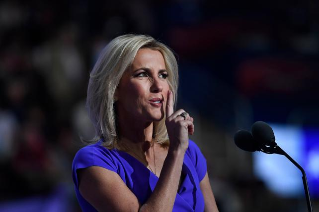 Laura Ingraham during the Republican National Convention on July 20, 2016.