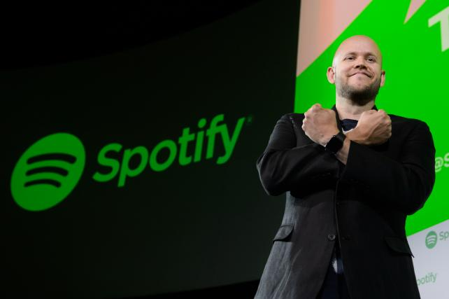 Daniel Ek, CEO and co-founder of Spotify.