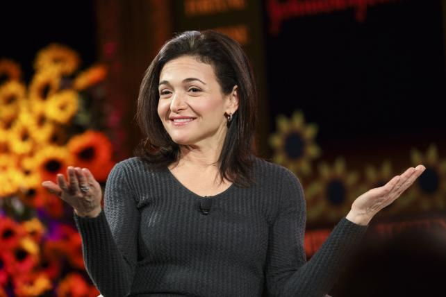 Sheryl Sandberg, chief operating officer of Facebook Inc., smiles during the Fortune Most Powerful Women Summit in Dana Point, California, U.S., on Tuesday, Oct. 18, 2016.