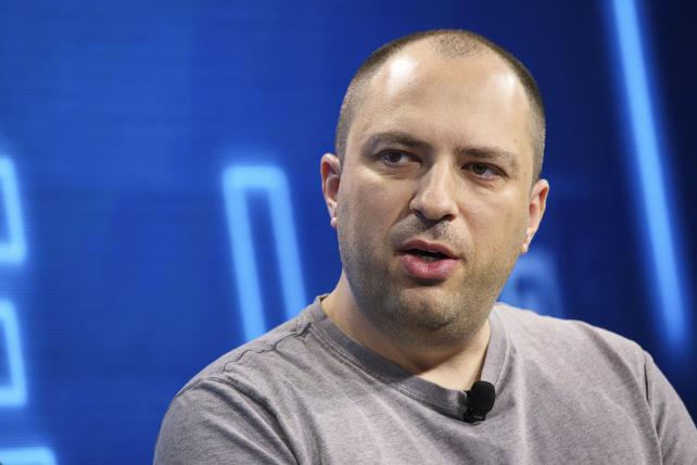 Jan Koum, co-founder and CEO of WhatsApp Inc., speaks during the WSJDLive Global Technology Conference in Laguna Beach, California, on Tuesday, Oct. 25, 2016.