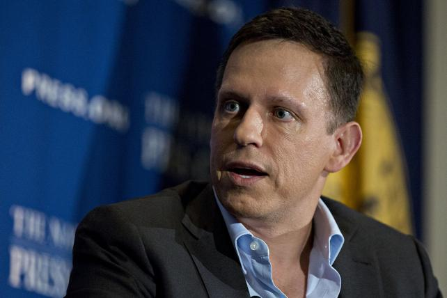 Peter Thiel in October 2016.
