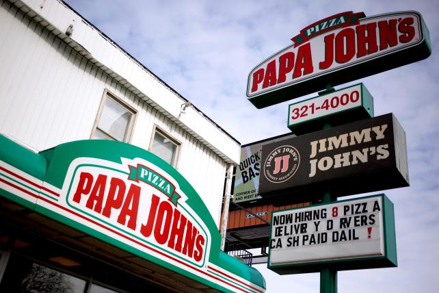 Papa John's is sued by shareholder over executives' behavior