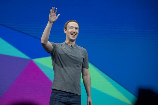 Facebook CEO Mark Zuckerberg, seen here during the F8 Developers Conference in April, had some stark words for Harvard graduates.