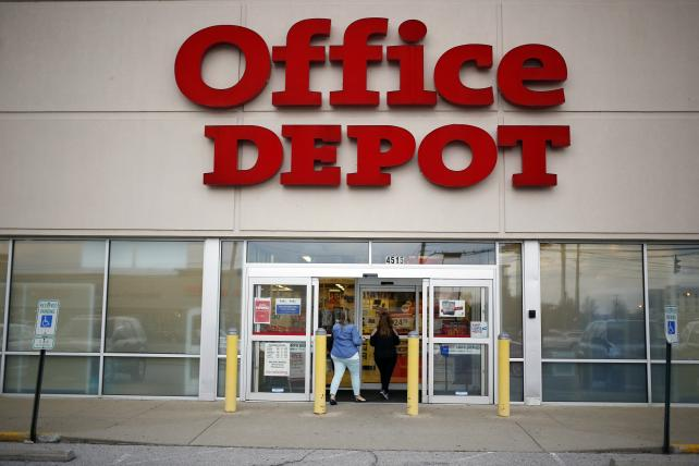 Alibaba partners with Office Depot in first U.S. b-to-b foray