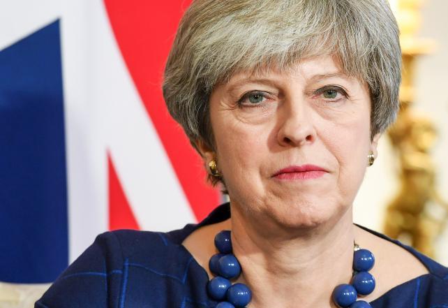 Theresa May, U.K. prime minister.