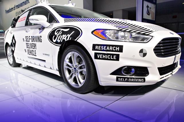 Ford commits $4 billion to autonomous vehicles, forms new subsidiary