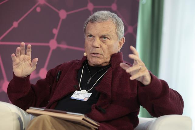Martin Sorrell at the World Economic Forum in Davos this year.