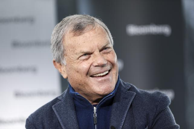 Martin Sorrell at the World Economic Forum in Davos in January.