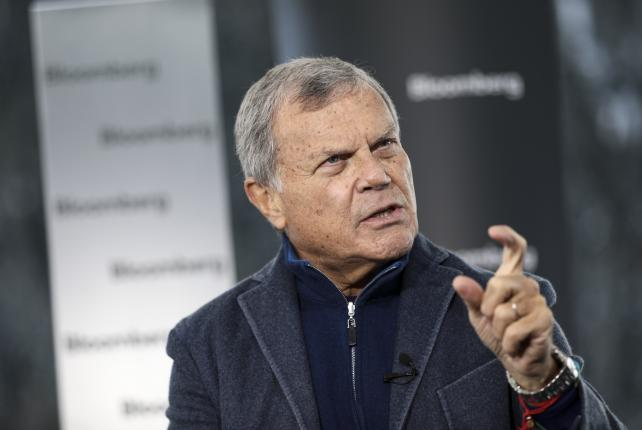 Martin Sorrell, CEO of WPP.
