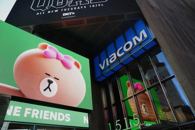Redstone is said to push for Viacom's Bakish in a CBS deal