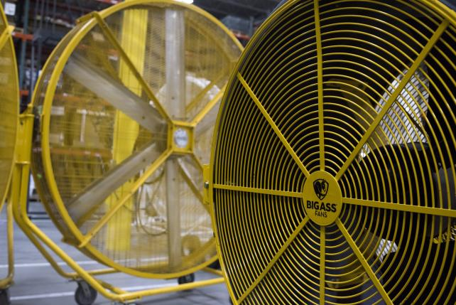 Industrial-strength humor: The power Behind Big Ass Fans
