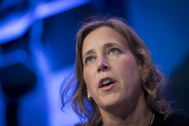 Susan Wojcicki, CEO of YouTube, speaks during a keynote session at South By Southwest earlier this month.