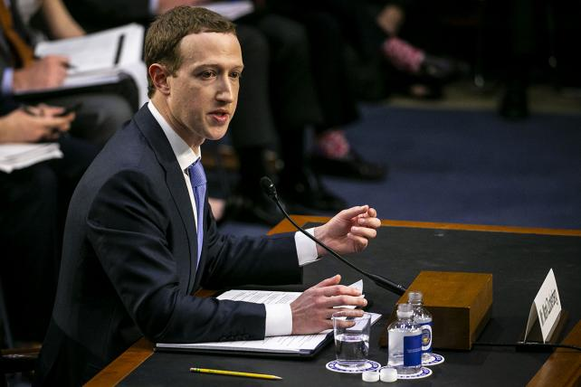 Mark Zuckerberg testified before more than 40 senators on Tuesday.