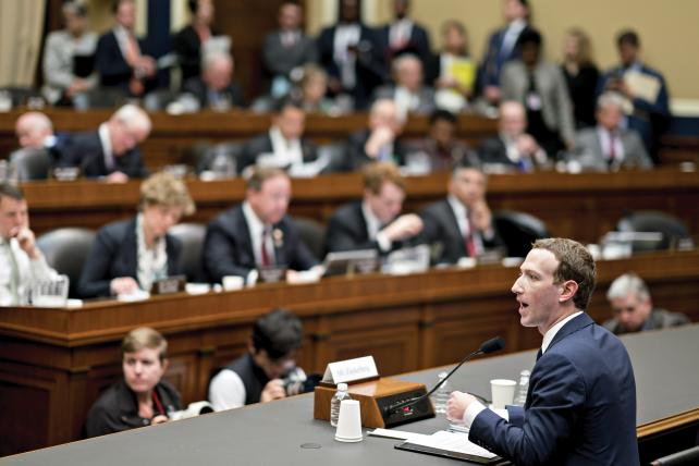 Mark Zuckerberg, CEO and founder of Facebook, appeared before Congress earlier this year.