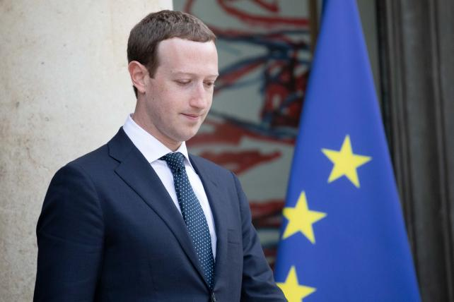 Facebook faces fine in U.K., but spared GDPR's tougher penalties