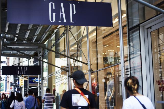 Gap tumbles after sales decline extends woes at namesake brand