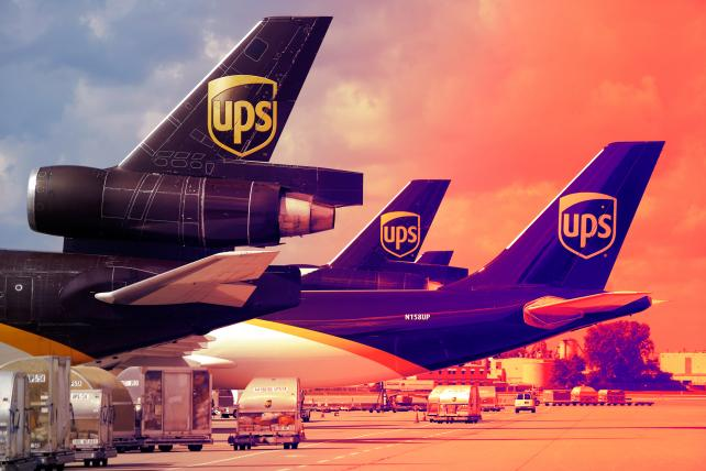 'What's United Parcel, without the deliverer?'