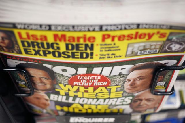 Walmart's tabloid romance will survive calls to remove Enquirer