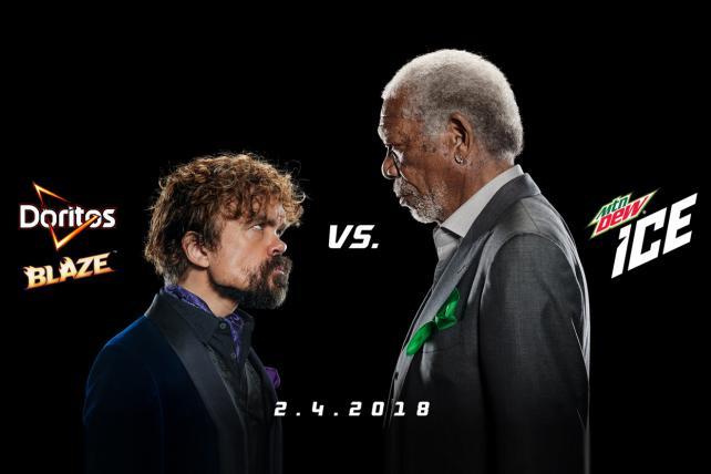 Watch: Morgan Freeman Gets His Freak on in Mtn Dew Super Bowl ad
