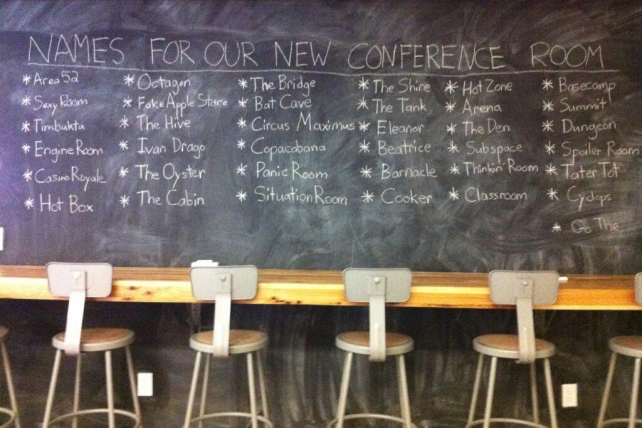 It Meeting Room Name Ideas