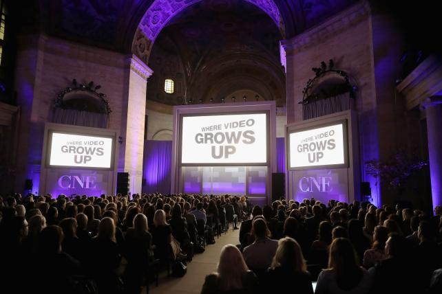 Conde Nast Entertainment's 2016 NewFronts presentation at Cipriani on May 3.
