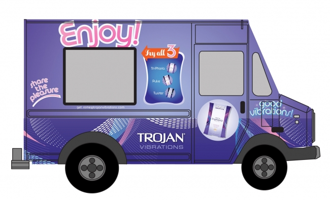 Trojan's Good Vibrations Truck: the Wienermobile for Sex Toys