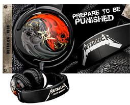 ... And Raucous for All: Skullcandy's Metallica Headphones