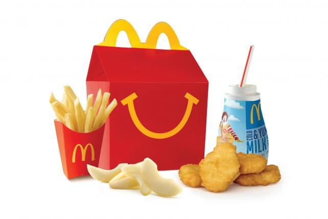 McDonald's Makes Happy Meals (Slightly) Healthier