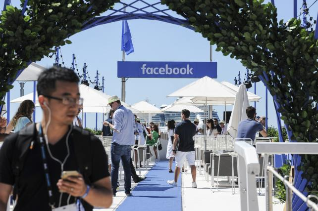 At Cannes this year, Facebook took over the Majestic beach.