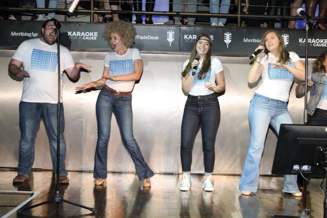 Horizon Media performs 'ABC' by the Jackson 5.