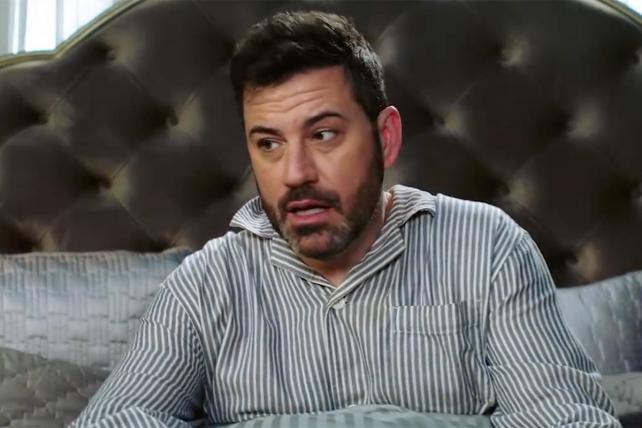 Host Jimmy Kimmel in an Oscar promo.
