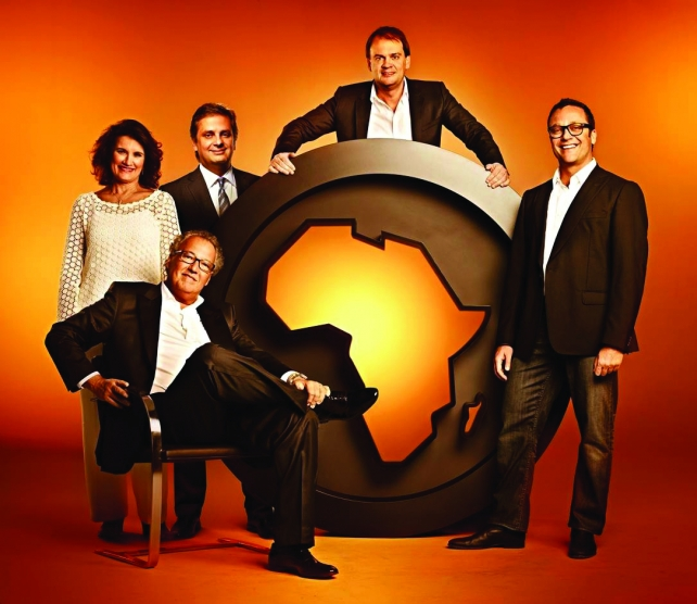 Africa's 5 founder/partners: Nizan Guanaes (seated), Olivia Machado, Luiz Fernando Vieira, Sergio Gordilho and Marcio Santoro