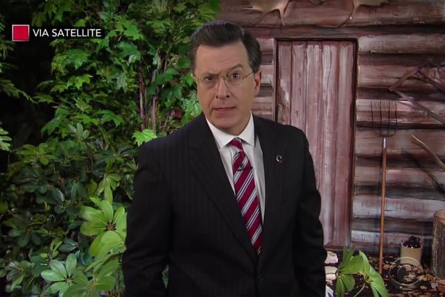 Watch Stephen Colbert's 'Stephen Colbert' Say Farewell to Bill O'Reilly