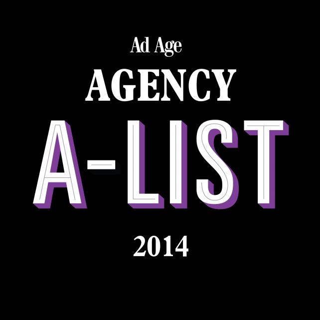 Ad Age's 2014 Agency A-List